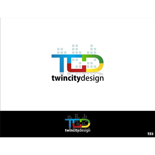 Logo for Twin City Design