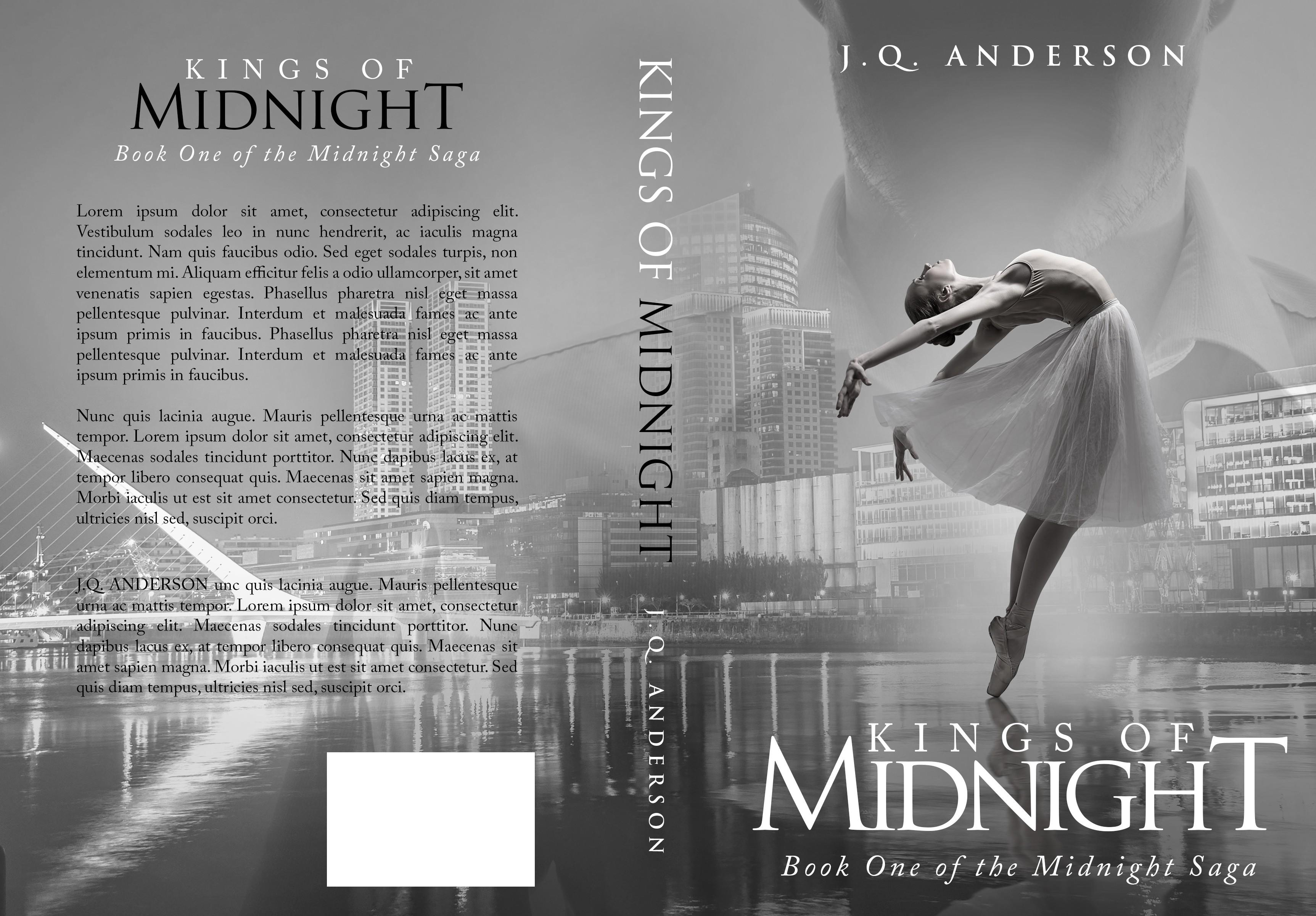 Print & E-Book format cover for contemporary romance author