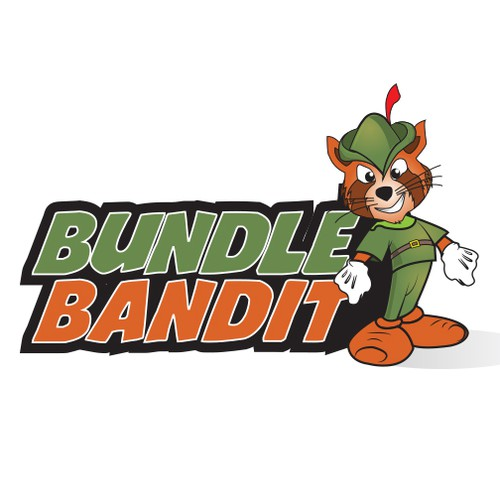 Logo and Mascot for BundleBandit.com