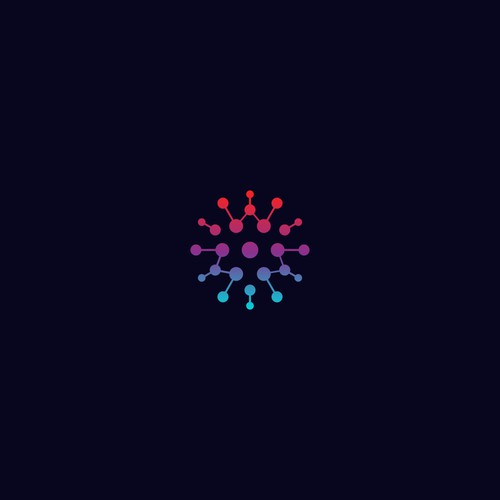 LED logo concept