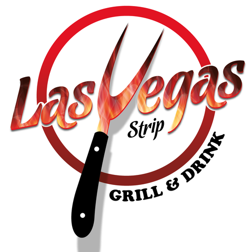 Logo concept for Las Vegas Strip Grill & Bar