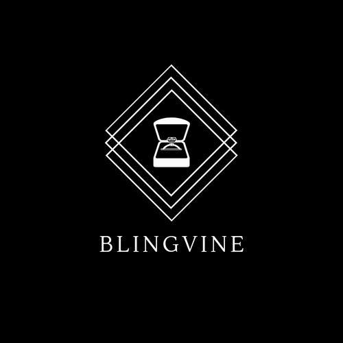 Elegant and Classical Logo Design for BLINGVINE