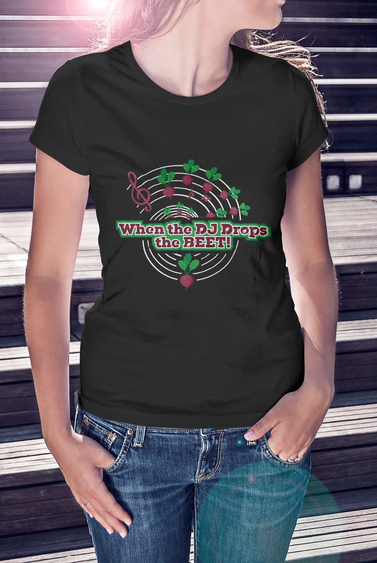 Vegan T Shirt design