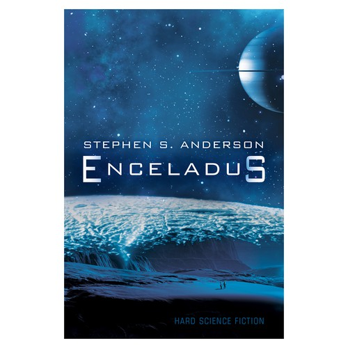 "Book cover for ""Enceladus"""