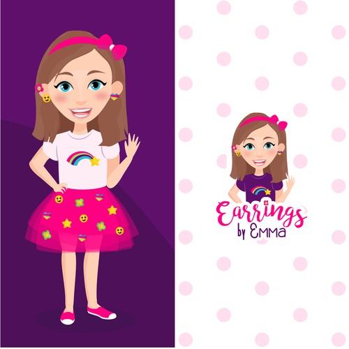 Earrings by Emma