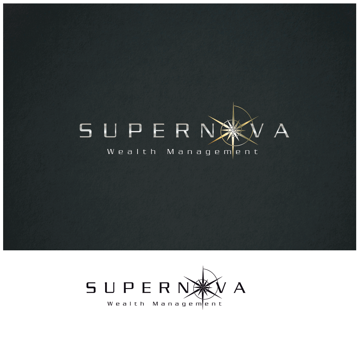 Creating a website and logo for Supernova Wealth Management, a financial services comapny
