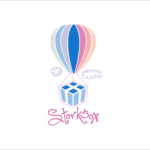 Storkbox sends packages of joy to new moms and needs a logo!
