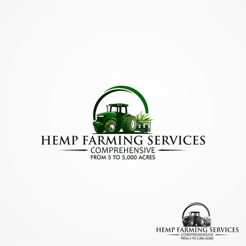 Clean and Simple Hemp Farming Services Logo