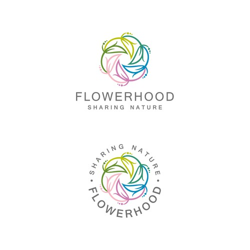 Flowerhood logo