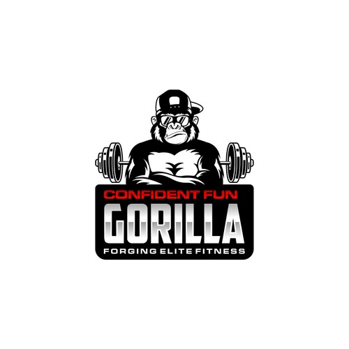 Gorilla Gym logo design