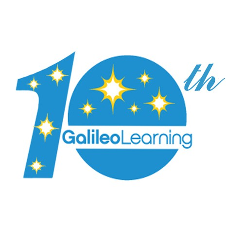 Galileo Learning 10th Anniversary Logo