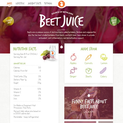 Touchscreen Interface For Automatic Raw Juice Kiosk