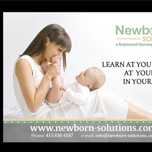 NewboRN Solutions needs a marketing postcard