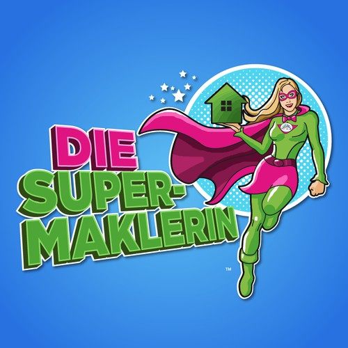 Logo for Die Super-Maklerin