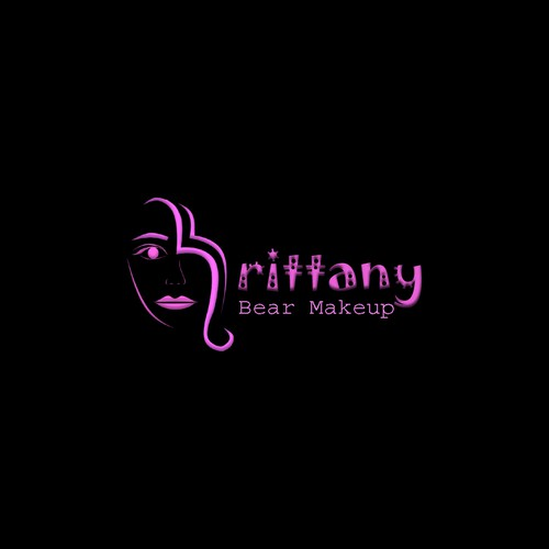 Brittany Bear Makeup Logo