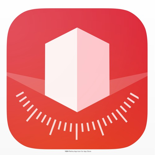Icon for Perspective-Correcting photo app (iOS App Store)
