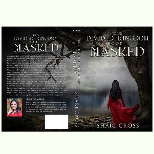 Dark Medieval Fantasy Cover for SHARI CROSS