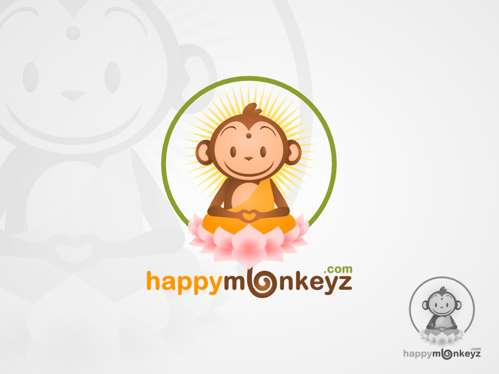 Create the next logo for happymonkeyz.com