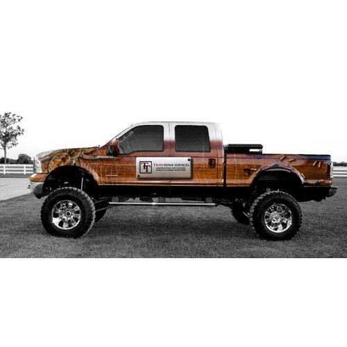 Wrap my truck! Need a design