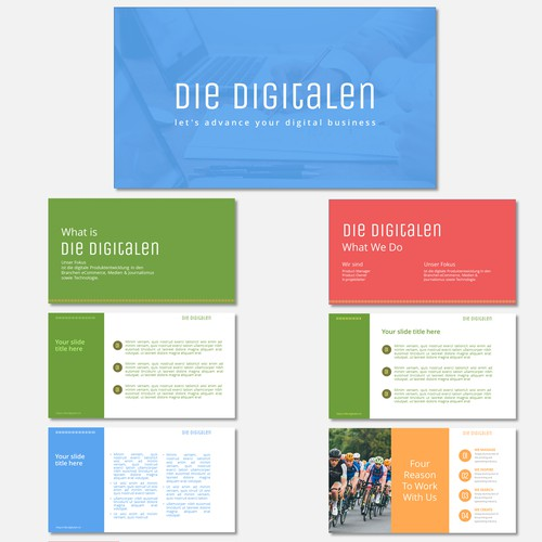 Desing for Digital Services Company