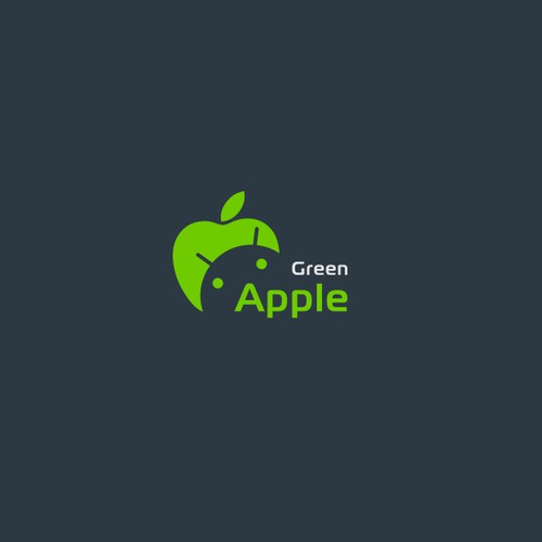 Logo Design and Identity Concepts for Green Apple