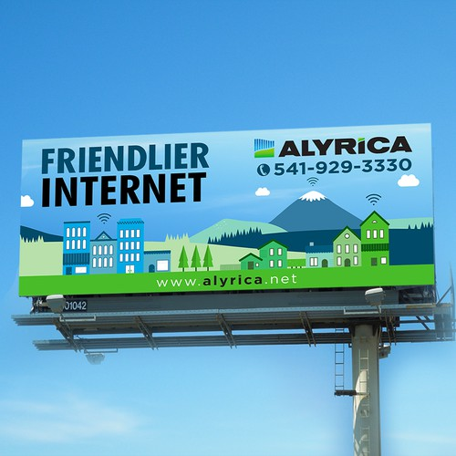 Bold Concept for Internet billboard
