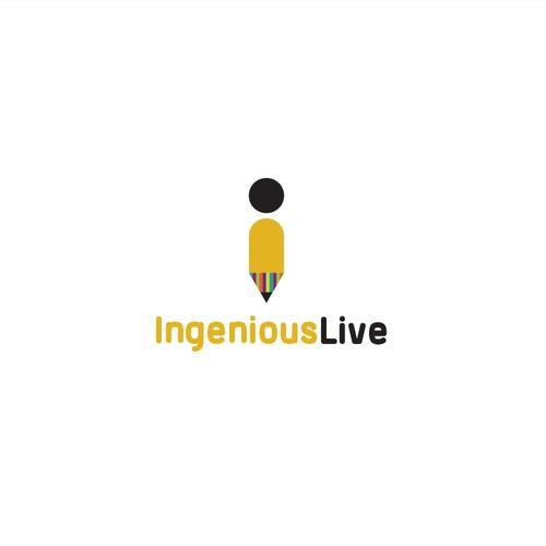 Ingenious live logo