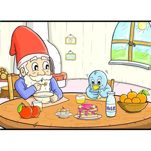 illustration child book