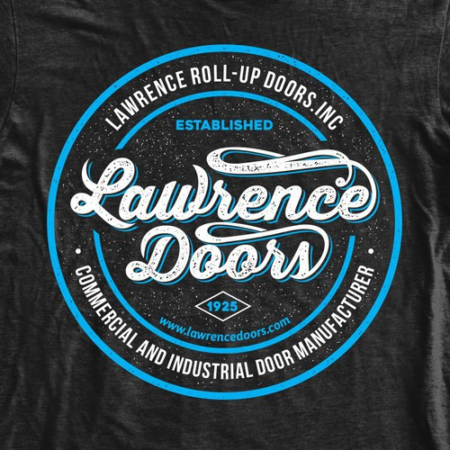 Industrial Door Company T-Shirt Design - Classic OR Creative Welcome!