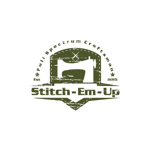 Stitch-Em-Up Logo Design