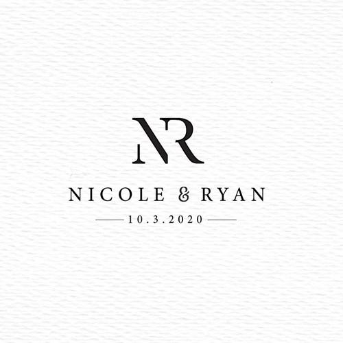 NR monogram