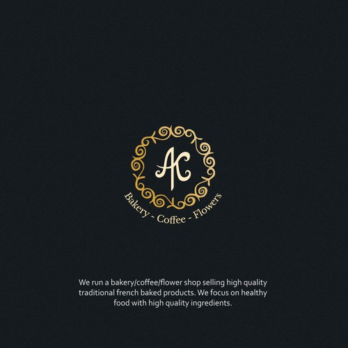 Luxurious logo for Bakery/Coffee shop