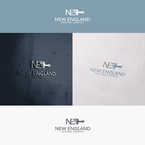 Logo for a luxury and modern new to market painting company