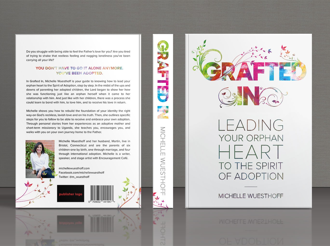 Create a beautiful, inspiring book cover that commands attention!