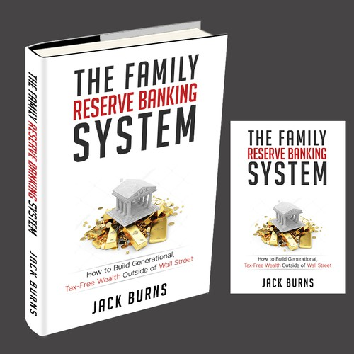 Create a cover for an investing eBook called The Family Reserve Banking System.