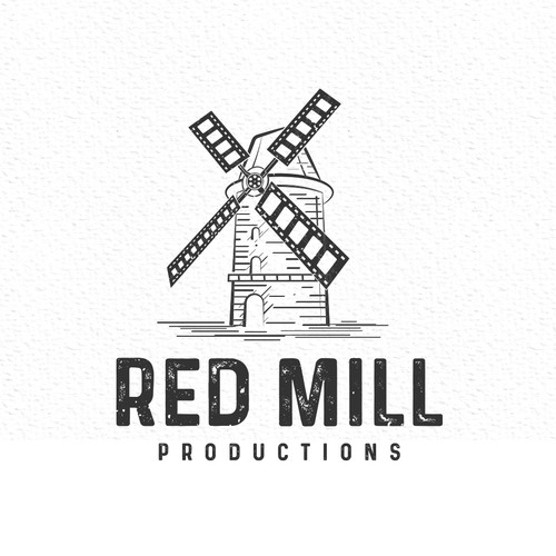 Red Mill Logo Design