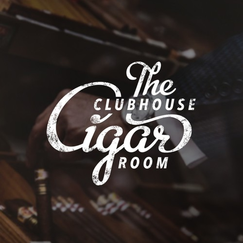 The clubhouse cigar room