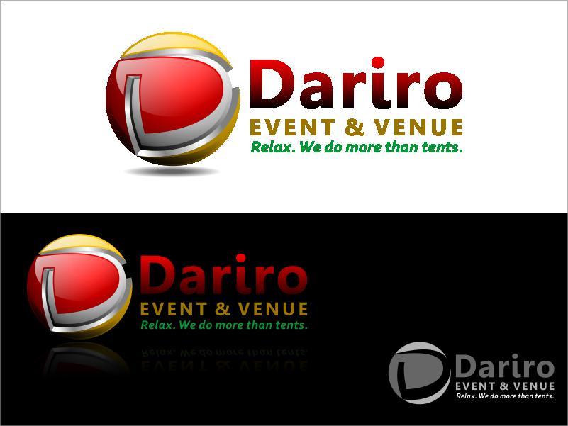 Create the next logo for Dariro Event & Venue
