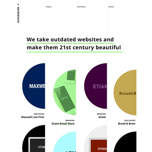 Minimalist Portfolio Design
