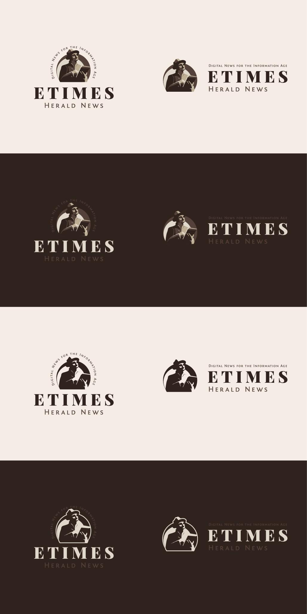 eTimes Herald News logo design contest