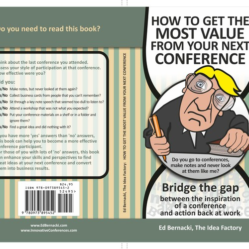 The Idea Factory needs a book cover: How to get the most value from a conference