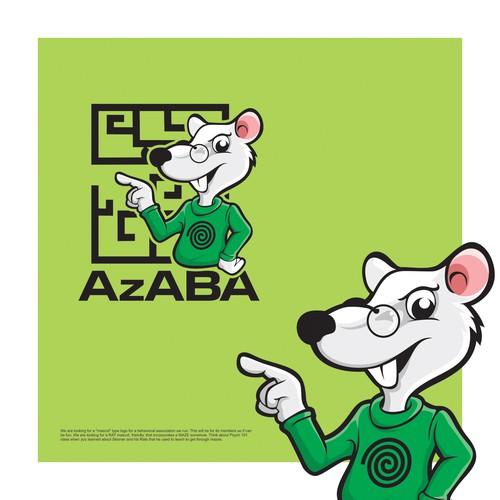 Rat Mascot Logo