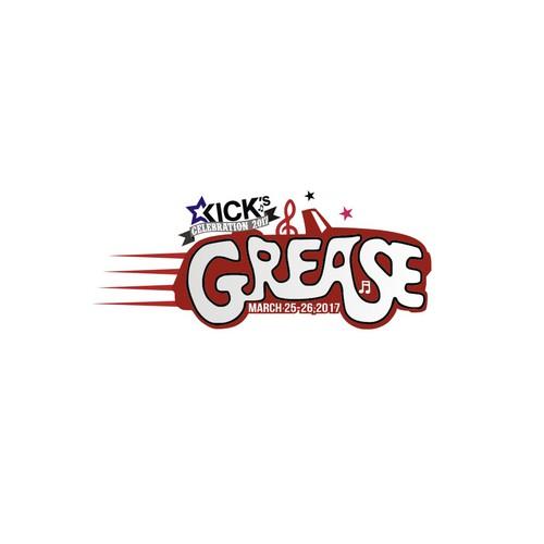 logo concept KICK's GREASE