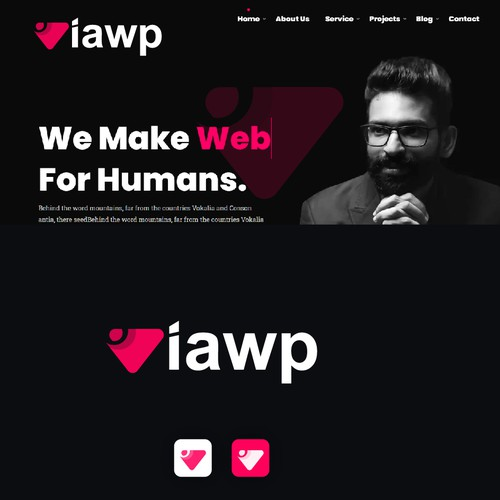 Bold logo needed for viawp.com