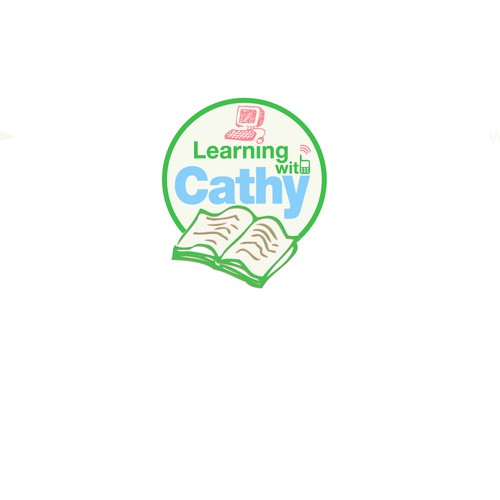 Learning with Cathy Logo Design
