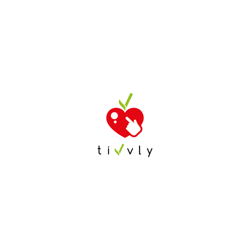 Bold and clean logo for new nutrition web app.