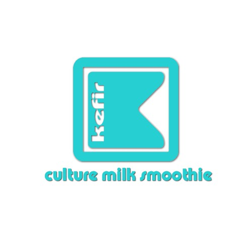 Fresh Kefir Logo for Bottle