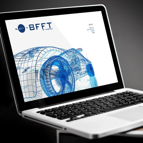 Website for Technological Automotive Company, BFFT
