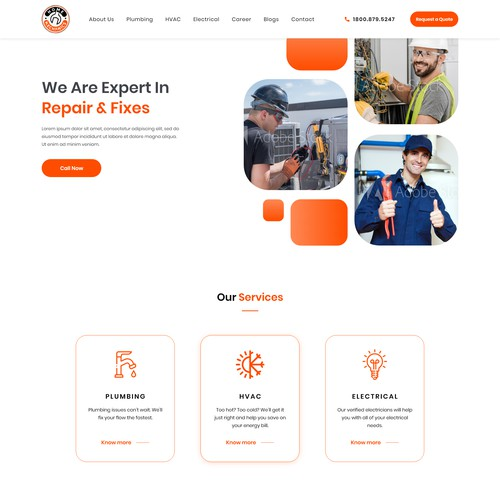 Home Service Website