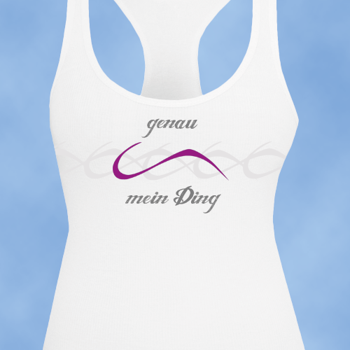 Young clothing label for paragliding women needs cool and stylish idea for tank top